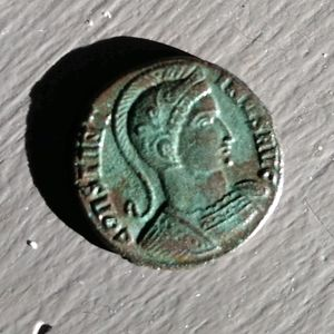 2,000 year old Roman coin